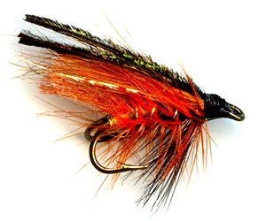 Bathakorva Norweigen Double hook trout and salmon fishing wet fly