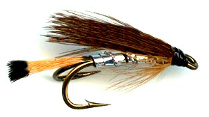 Heggeli Norweigen Double hook trout and salmon fishing wet fly