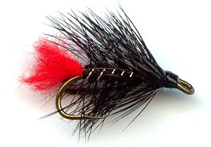 Zulu Norweigen Double hook trout and salmon fishing wet fly