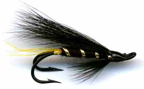 The Stoat's Tail Double Hook Salmon Fly