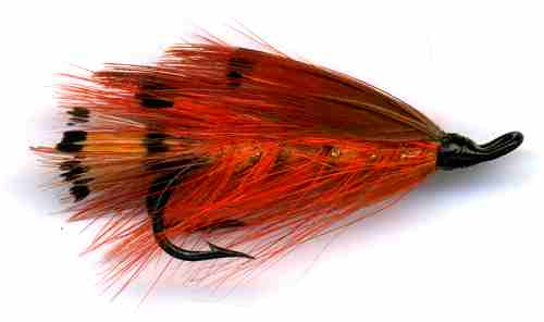 SHRIMP FLY DOUBLE HOOK SALMON FLIES.