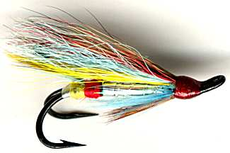 The Silver Doctor Double Hook Salmon Fly