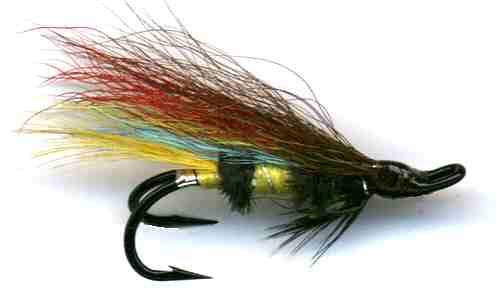 4 Quality Size 12 Double Jock Scott Salmon Sea Trout Salmon Flies