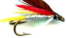 Soldokka (Silver Dollar) Double Hook Wet fly pattern