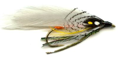 The Gray Ghost Single Hook Streamer