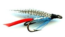Telemarkskongen Double Hook Wet fly pattern