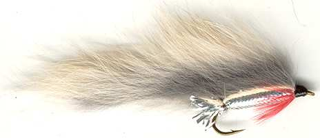 The Natural Gray Zonker Streamer
