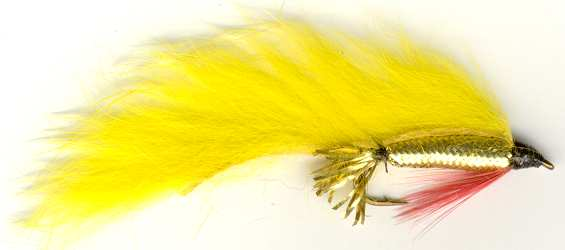 The Yellow Zonker Streamer