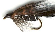 Ace of Spades Matuka Streamer fly pattern
