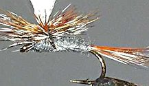 Adams Parachute Dry fly pattern