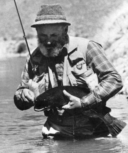 Al Troth fly fisherman