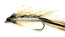 Badger Matuka Streamer fly pattern