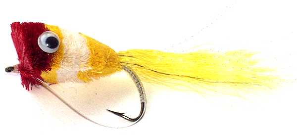 Tap's Popper Deer Hair Bassbug - The original bass bug