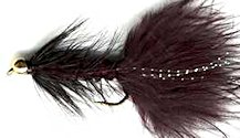 Beaded Black Woolly Bugger fly pattern