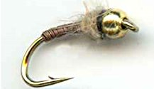 Beaded Brassie Nymph fly pattern
