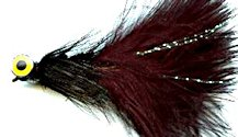 Black Deepwater Woolly Bugger fly pattern