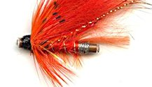 Black Nosed Ally's Shrimp One Inch Copper Salmon Tube fly pattern