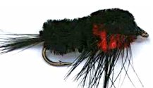 Black and Red Montana Stonefly Nymph fly pattern