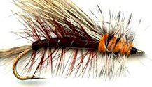 Black Stimulator Attractor Dry fly pattern