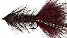Black Woolly Bugger fly pattern
