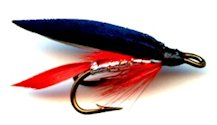 Bloody Butcher Double Hook Wet fly pattern