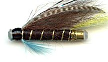 Blue Charm One Inch Plastic Salmon Tube fly pattern