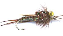 Brown Crystal Stonefly Nymph fly pattern