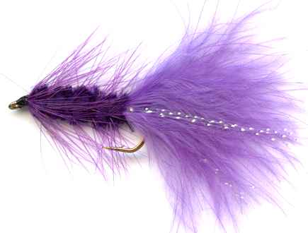 The Purple Woolly Bugger Fly