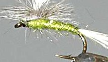 Blue Winged Olive BWO Parachute Dry fly pattern