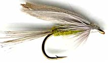 Blue Winged Olive Wet fly pattern