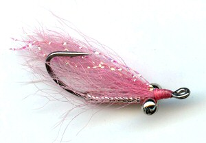 Pink Crazy Charlie Bonefish saltwater Fly fishing flies