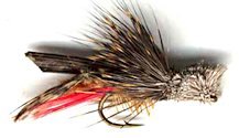 Dave's Hopper Dry fly pattern