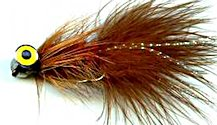 Brown Deepwater Woolly Bugger fly pattern