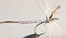 Detached Body Mayfly Spinner fly pattern