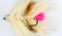 Drifting Salmon Carcass Single Hook fly pattern