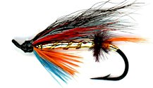 Dunkeld Salmon Single Hook fly pattern