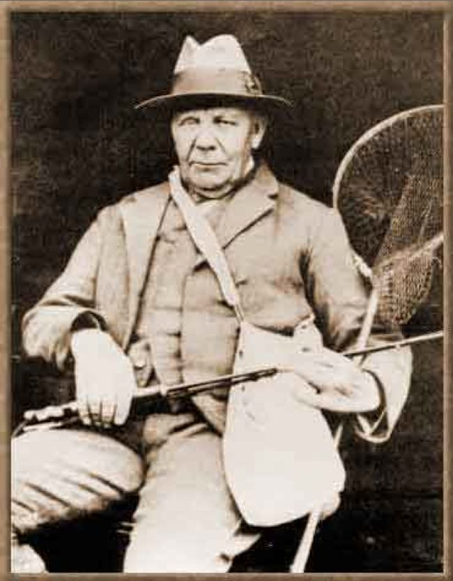 Fly fisherman George Edward Mackenzie Skues - father of nymph fishing