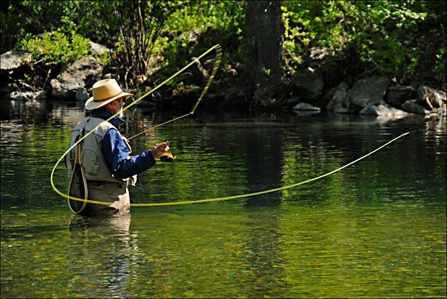 Fly fishing how to keep cool