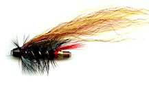 Garry Dog One Inch Copper Salmon Tube fly pattern