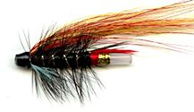 Garry Dog 1 1/2 Inch Plastic Salmon Tube fly pattern