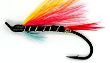 Garry Dog Salmon Single Hook fly pattern