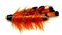 General Practitioner 1 Inch Copper Salmon Tube fly pattern