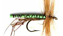 Green Daddy Long Legs fly pattern