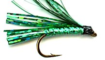 Green Sparkler Streamer fly pattern