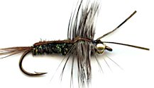 Half Back Stonefly Nymph fly pattern