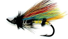 Jock Scott Salmon Single Hook fly pattern