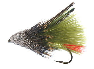 Marabou Strung Olive Fly Fishing connective material Streamer nymphs etc