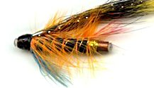 Munro Killer 1 Inch Copper Salmon Tube fly pattern