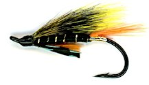 Munro Killer Salmon Single Hook fly pattern