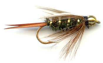 The Beaded Prince's Nymph Fly